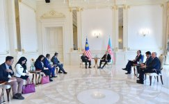 President Ilham Aliyev receives Malaysian PM Mahathir bin Mohamad (PHOTO) - Gallery Thumbnail