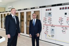 "President Ilham Aliyev launches newly renovated ""Gabala"" power substation (PHOTO) - Gallery Thumbnail"