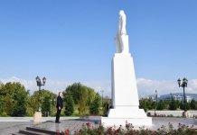 Президент Ильхам Алиев прибыл в Агдашский район (ФОТО) (версия 2) - Gallery Thumbnail