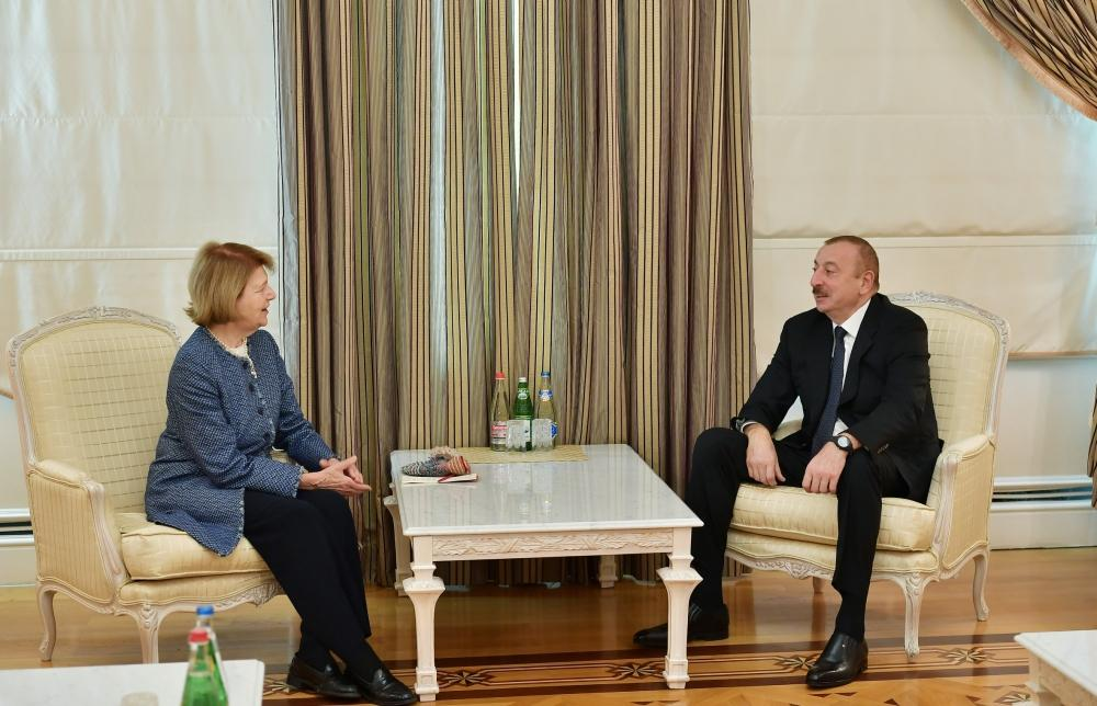 President Ilham Aliyev receives delegation led by UK Prime Minister's Trade Envoy to Azerbaijan (PHOTO) - Gallery Image