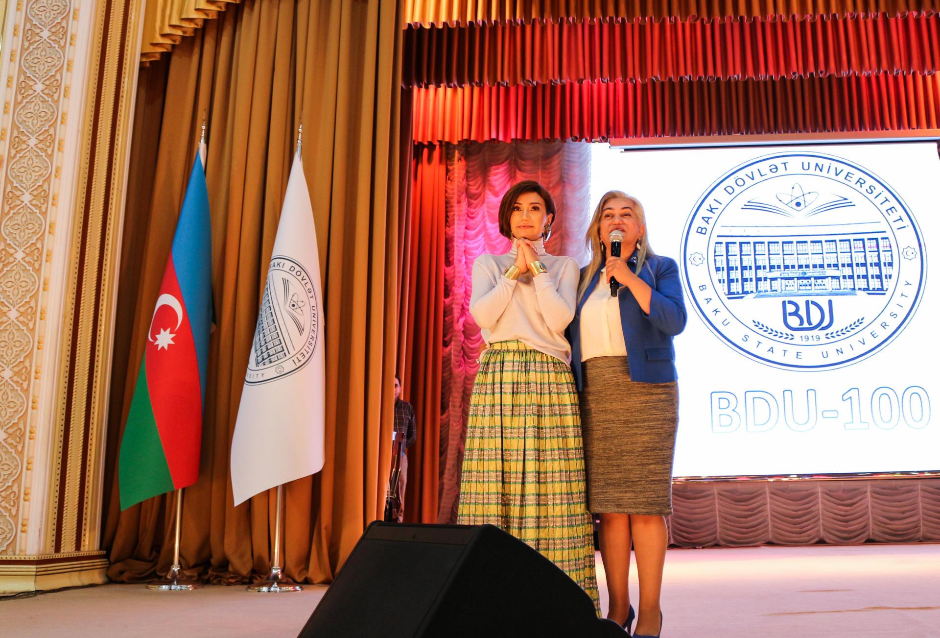 Röya BDU-da 100 illik yubiley münasibətilə konsert verdi (FOTO) - Gallery Image