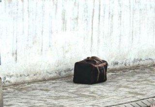 Beynəlxalq aeroportda partlayıcı dolu çanta tapıldı