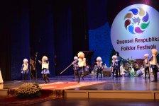 Ənənəvi Respublika Folklor Festivalına yekun vurulub (FOTO) - Gallery Thumbnail