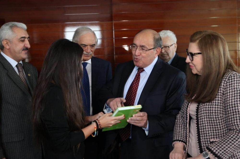 "Heydar Aliyev Foundation VP attends ""Nasimi's poetry – an anthem to human: Synthesis of Eastern and Western cultural and spiritual values"" conference  (PHOTO) - Gallery Image"