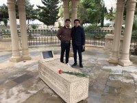Албан Клод из Франции посетил святилище Пир Гасан и могилу прадеда Гаджи Зейналабдина Тагиева (ФОТО) - Gallery Thumbnail
