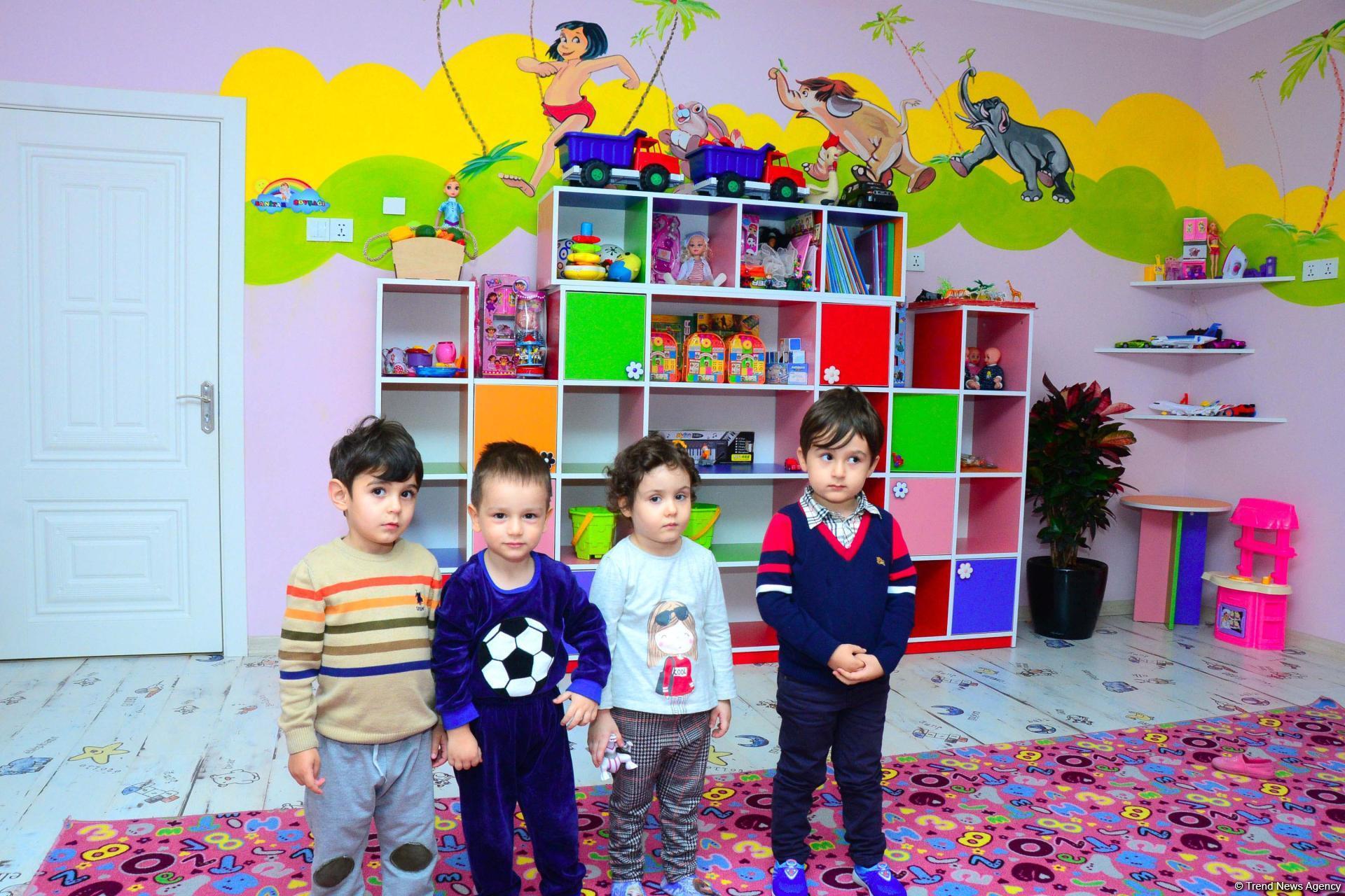 Счастливое детство азербайджанских детей - репортаж из детского сада номер 64 в Баку (ВИДЕО, ФОТО) - Gallery Image
