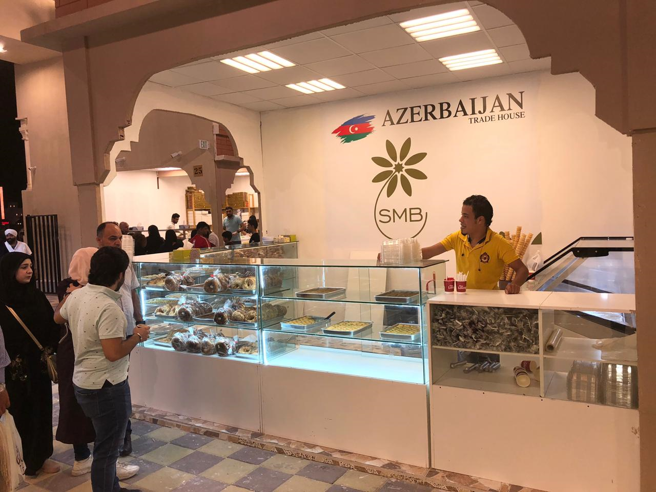 Azerbaijani products showcased at int'l exhibition in Dubai (PHOTO) - Gallery Image