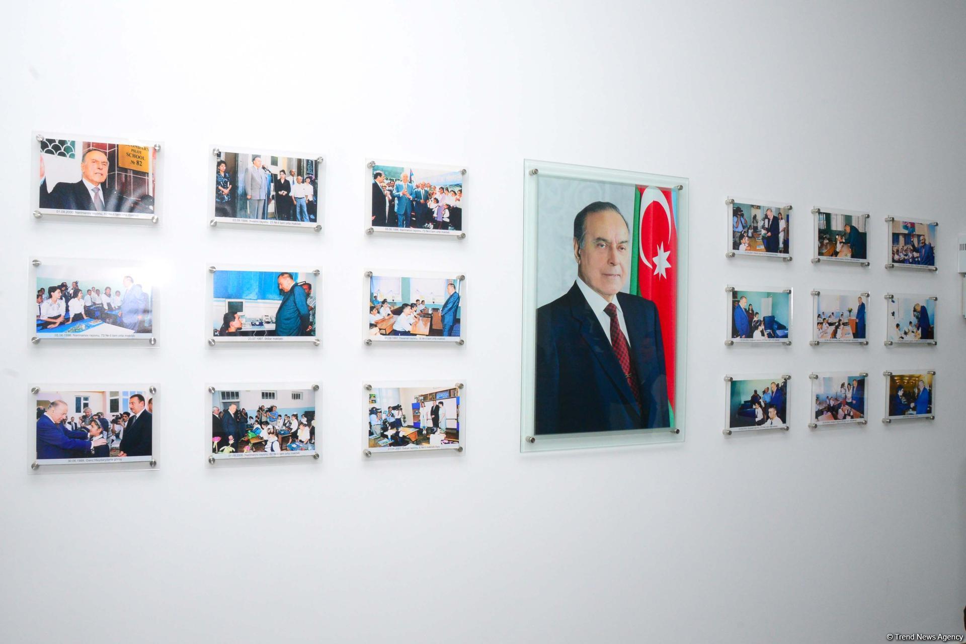 Забота государства вдохновляет нас еще больше работать на благо Азербайджана и наших детей - репортаж из школы-интерната номер 10 в Баку (ВИДЕО, ФОТО)   - Gallery Image