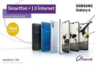 Special offer from Azercell for Samsung smartphones!
