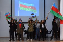 ADU-da Dövlət Bayrağı Günü münasibəti ilə tədbir keçirilib (FOTO) - Gallery Thumbnail
