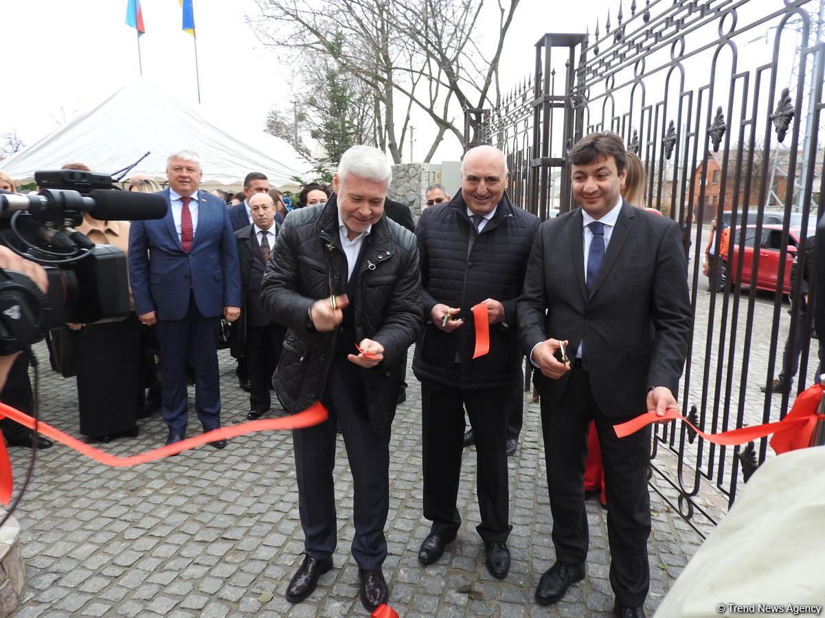Azerbaijan's first Center of Culture & Information opens in Ukraine (PHOTO)