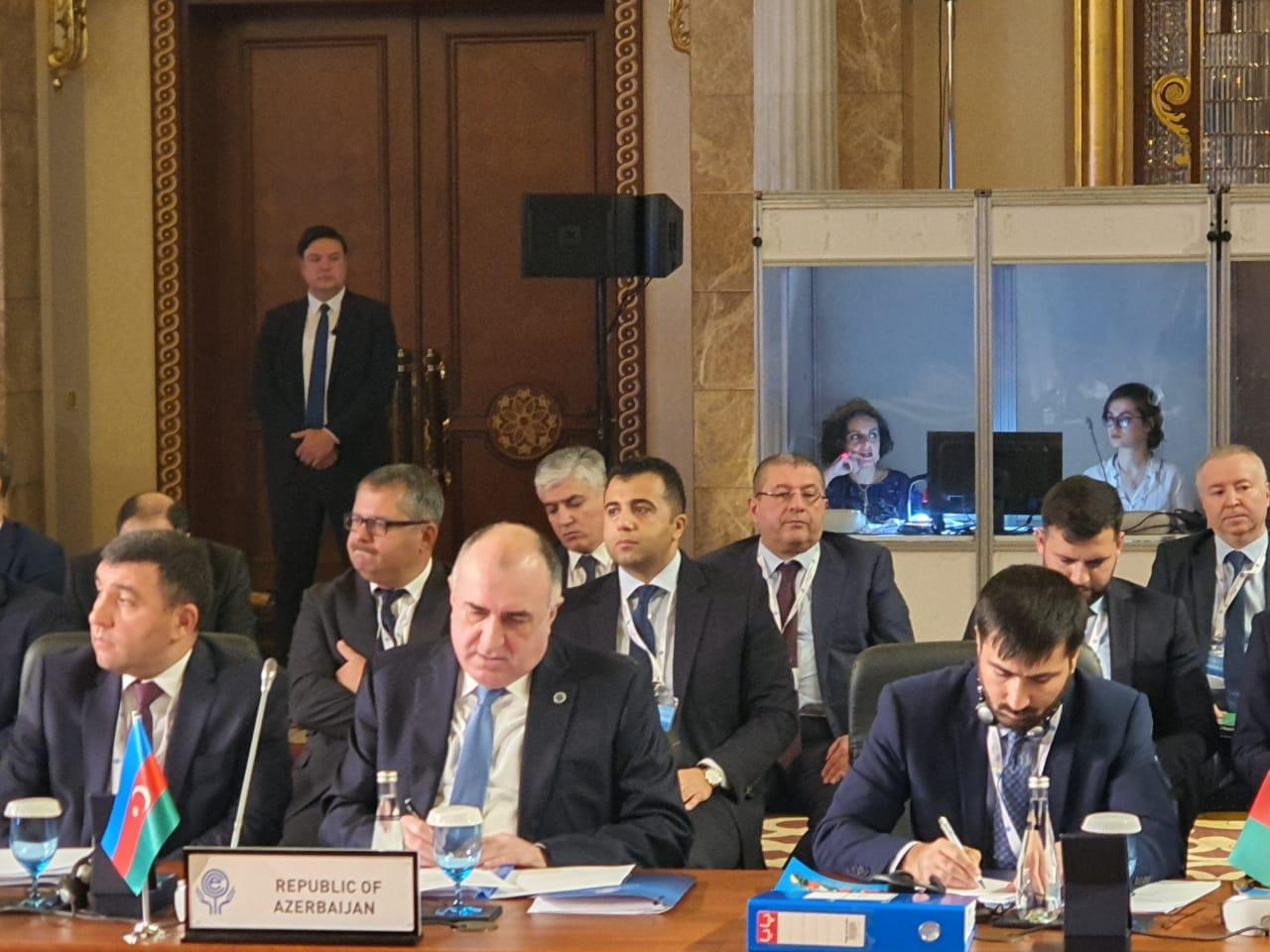 Mammadyarov: Azerbaijan has always provided its support to various economic cooperation efforts in region and beyond (PHOTO)