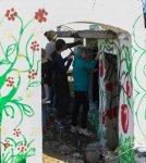 Президент Ильхам Алиев и Первая леди Мехрибан Алиева приняли участие в акции по посадке деревьев в Хатаинском районе Баку (ФОТО) - Gallery Thumbnail