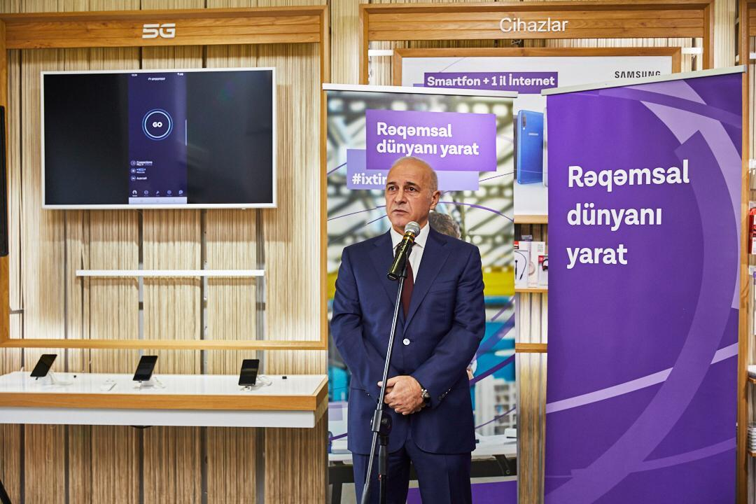 Azercell starts first in Azerbaijan 5G network in City Center of Baku! (PHOTO) - Gallery Image