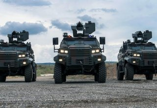 Turkish export of defense products to int'l markets down in 1H2020
