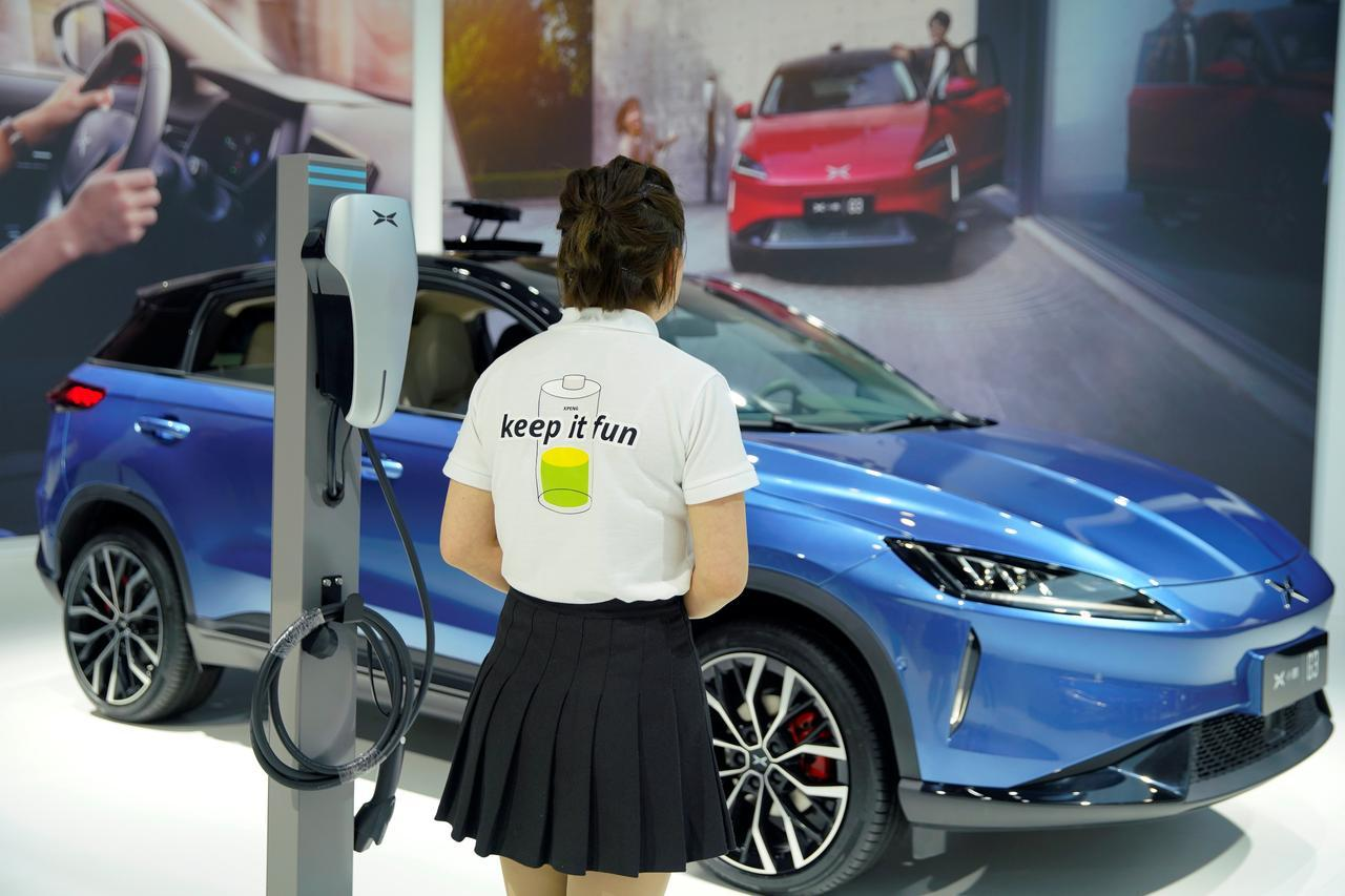 Alibaba-backed EV startup XPeng says raises $400 million for growth