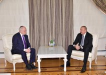 Azerbaijani president receives Executive Vice Chairman/CEO of Conference of Presidents of Major Jewish Organizations (PHOTO) - Gallery Thumbnail