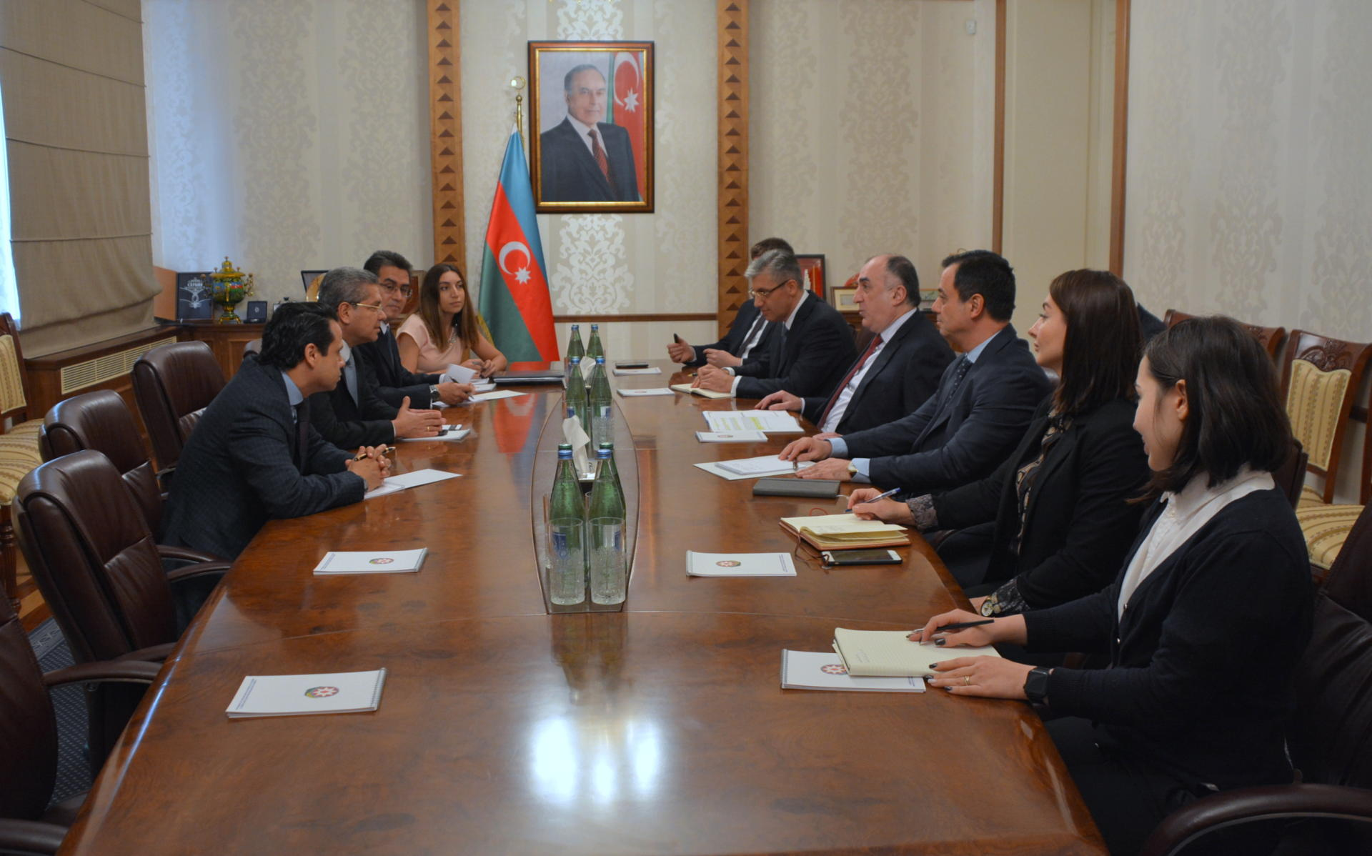 Columbia supports Azerbaijan's position on settlement of Karabakh conflict (PHOTO)