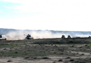 Azerbaijan's Rocket, Artillery Troops begin to carry out tasks of operational exercises (PHOTO/VIDEO)