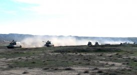 Azerbaijan's Rocket, Artillery Troops begin to carry out tasks of operational exercises (PHOTO/VIDEO) - Gallery Thumbnail