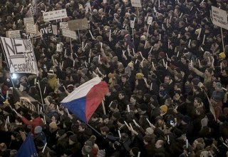 Some 200,000 rally against Czech Prime Minister in central Prague