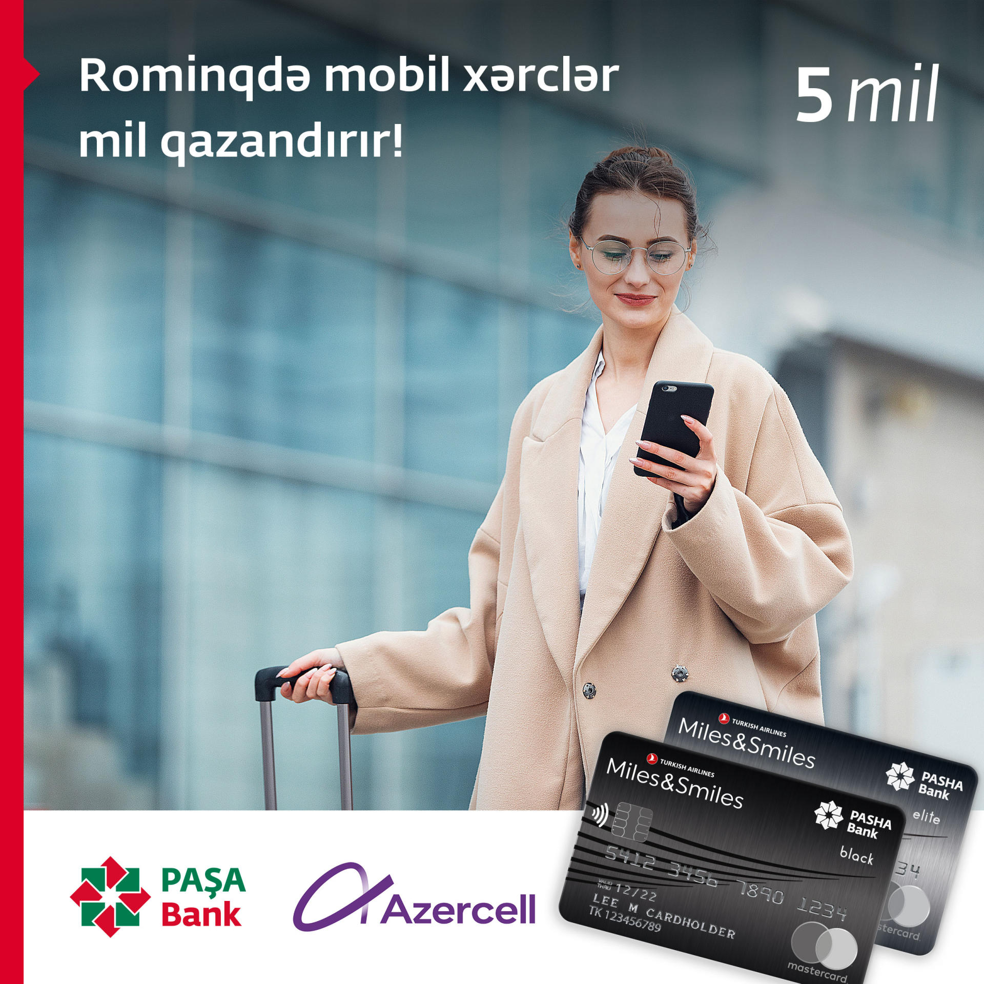 Earn miles with Azercell Roaming!