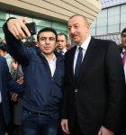 President Ilham Aliyev inaugurates Pirshaghi railway Station (PHOTO) - Gallery Thumbnail