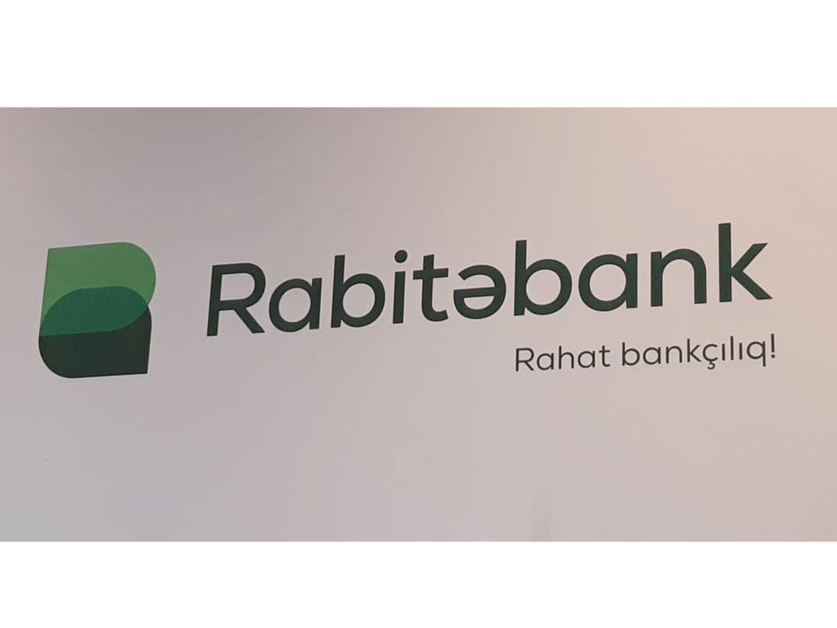 Azerbaijan's Rabitabank presents new logo and motto