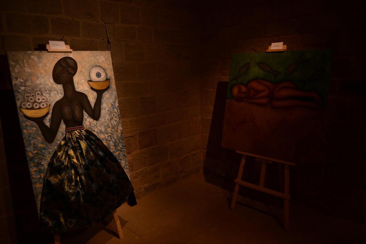 """""""Alüminium"""" VI Bakı Beynəlxalq Müasir İncəsənət Biennalesi çərçivəsində ekspozisiyaların açılışı olub (FOTO) - Gallery Image"""