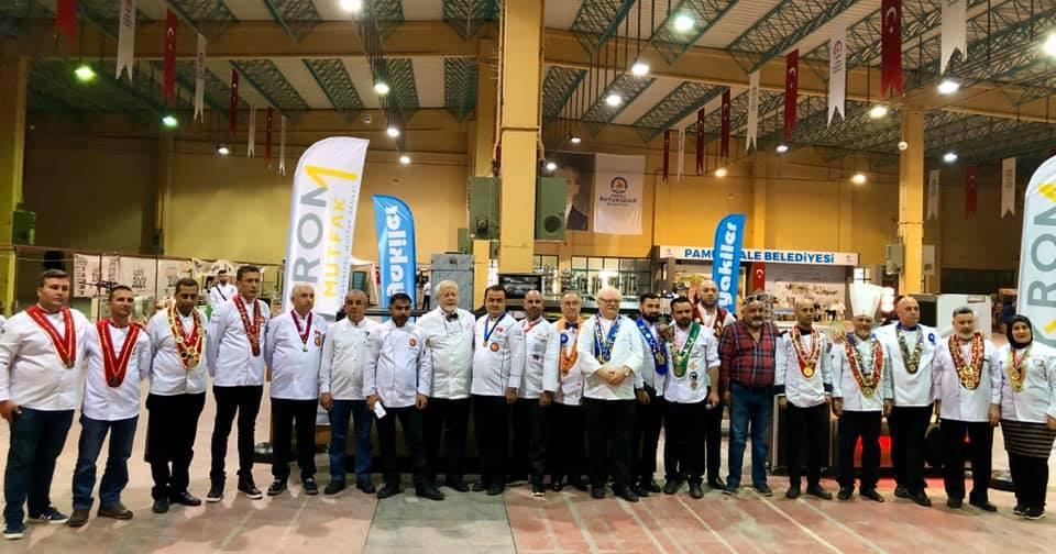 Азербайджанские шеф-повара  стали лучшими среди 15 стран (ФОТО) - Gallery Image