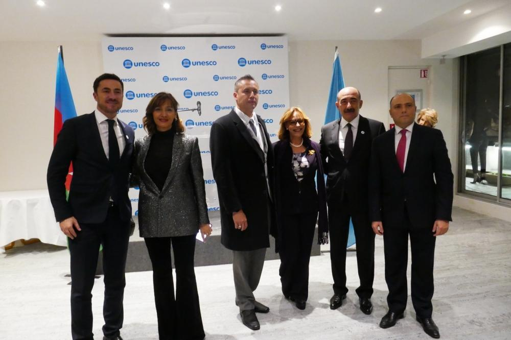 25th anniversary of establishment of Azerbaijan's National Commission for UNESCO celebrated in Paris (PHOTO) - Gallery Image
