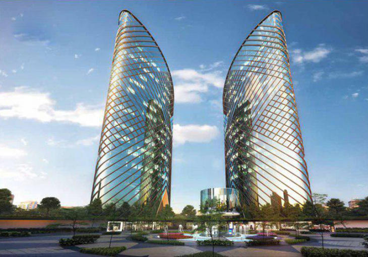 First two skyscrapers to be built in Uzbekistan's Fergana Valley