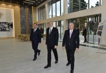 Azerbaijani president inaugurates new building of Nizami cinema in Sumgayit (PHOTO) - Gallery Thumbnail