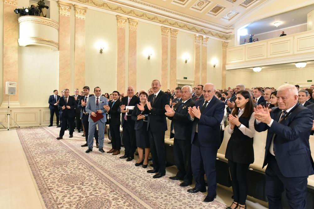 President Ilham Aliyev attends event marking 70th anniversary of Sumgayit (PHOTO) - Gallery Image