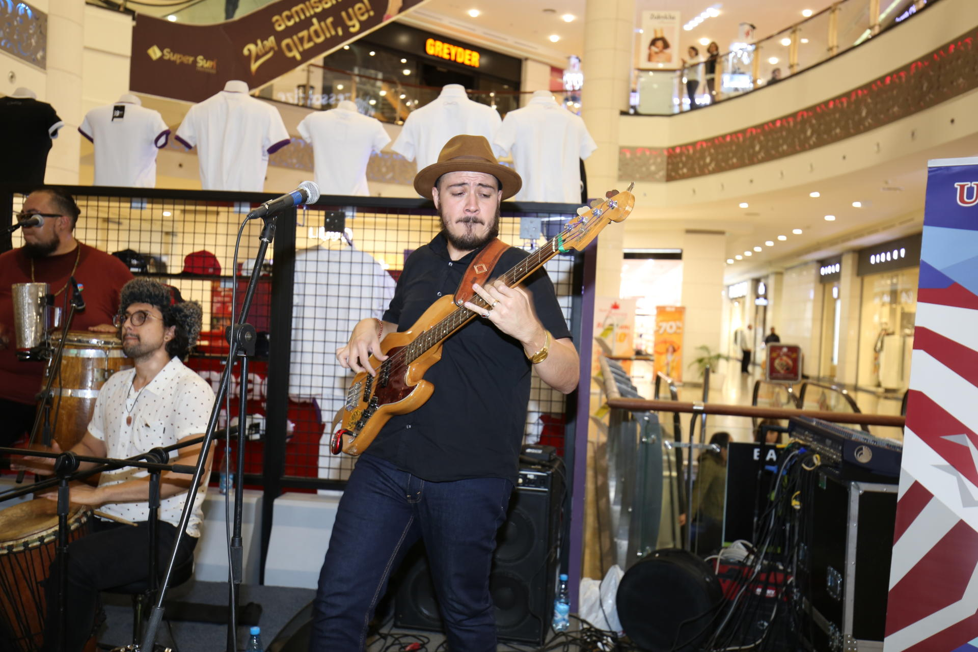 US Embassy sponsors the first visit of the American Afro-Latin music group to Azerbaijan (PHOTO) - Gallery Image