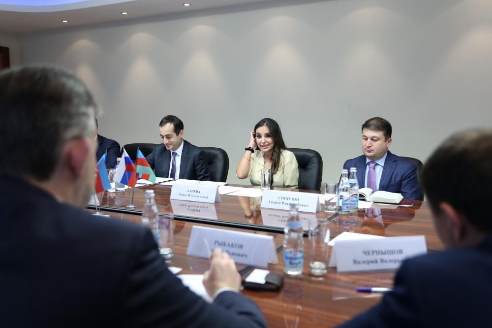 VP of Heydar Aliyev Foundation Leyla Aliyeva holds bilateral meetings in Moscow (PHOTO) - Gallery Image