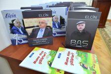 Xalq yazıçısı Elçinin kitablarının təqdimatı keçirilib (FOTO) - Gallery Thumbnail