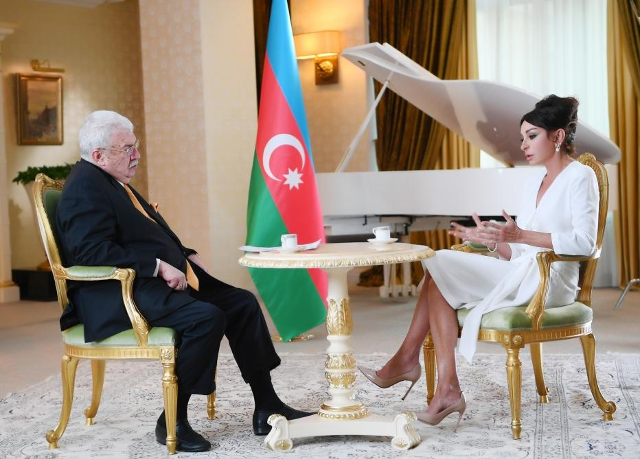 Azerbaijan's First VP gives interview to TASS news agency (PHOTO/VIDEO)
