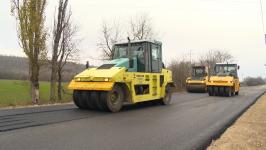 Yeni Quba-Xınalıq yolunun bir hissəsində yenidənqurma işləri tamamlanır (FOTO) - Gallery Thumbnail