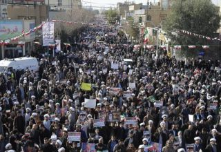 Iran stages pro-government rallies after days of violent unrest