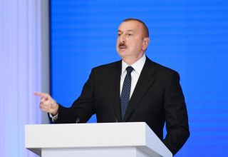 President Ilham Aliyev: In most difficult days for Azerbaijan, treasury was empty, thanks to Popular Front-Musavat tandem