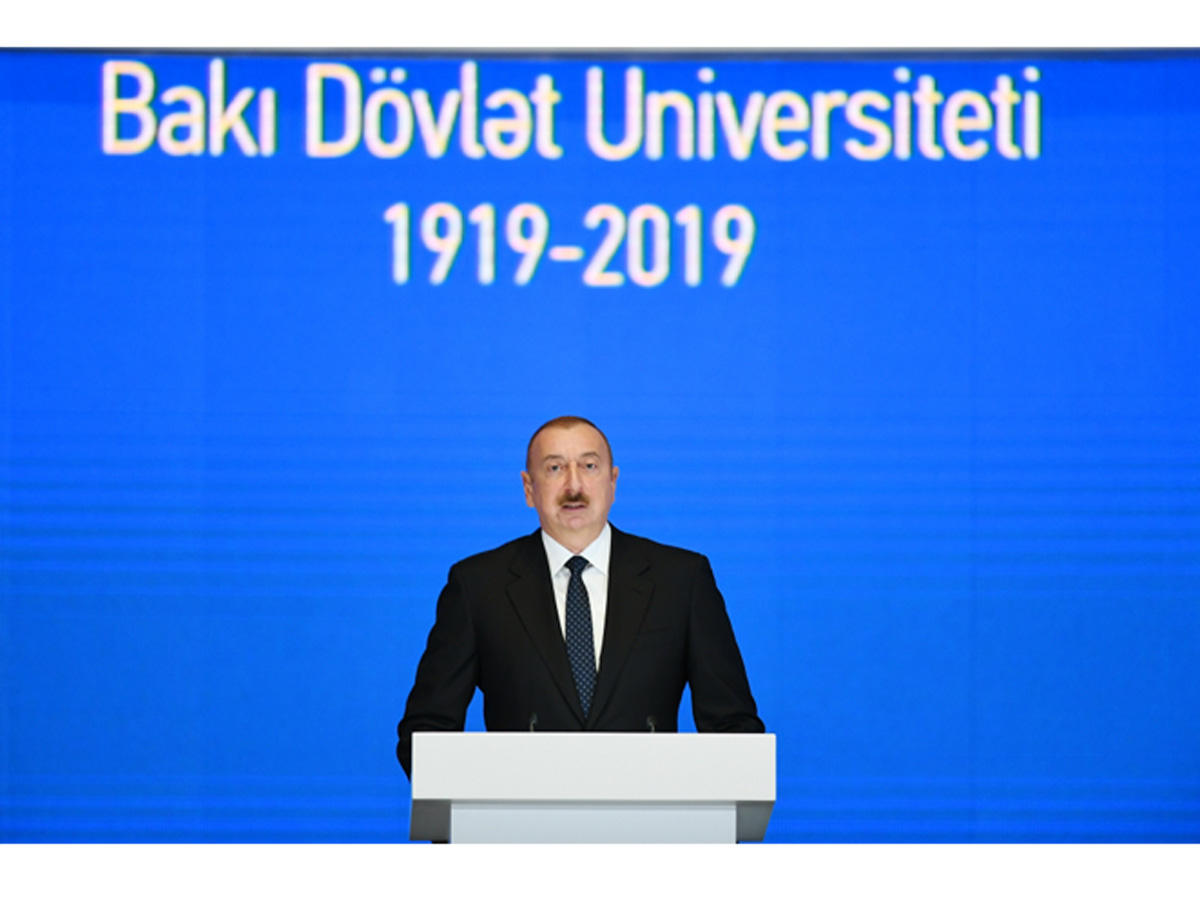 President: Heydar Aliyev preserved, defended and strengthened Azerbaijan's independence, put Azerbaijanis on right path