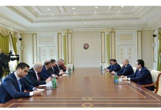 President Aliyev receives delegation led by Slovak Minister of Foreign and European Affairs (PHOTO)