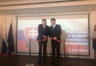 FM: Opening ceremony of Slovakia's embassy to strengthen relations with Azerbaijan (PHOTO)