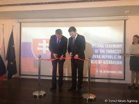 Мирослав Лайчак: Открытие посольства Словакии послужит укреплению отношений с Азербайджаном (ФОТО) - Gallery Thumbnail