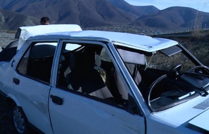 """Bakıda """"Tofaş"""" aşdı, sürücü öldü"""