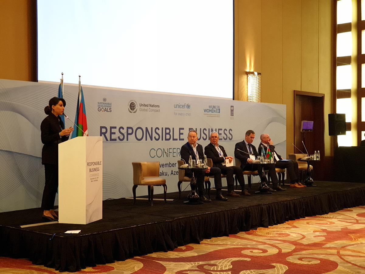 Business leaders in Azerbaijan discussed embedding UN Global Compact principles, SDGs into their operations, strategies (PHOTO)