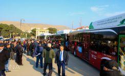 125 nömrəli marşrut xəttinə yeni avtobuslar verilir (FOTO) - Gallery Thumbnail