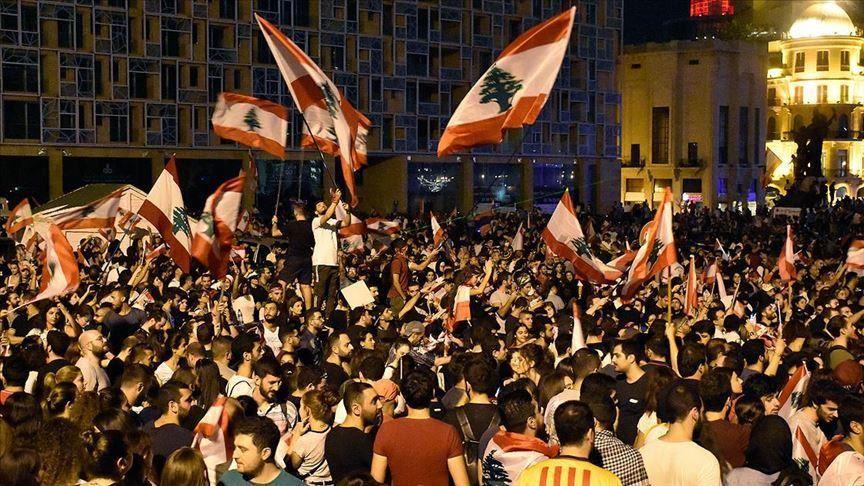 Полиция применила слезоточивый газ против демонстрантов в Бейруте