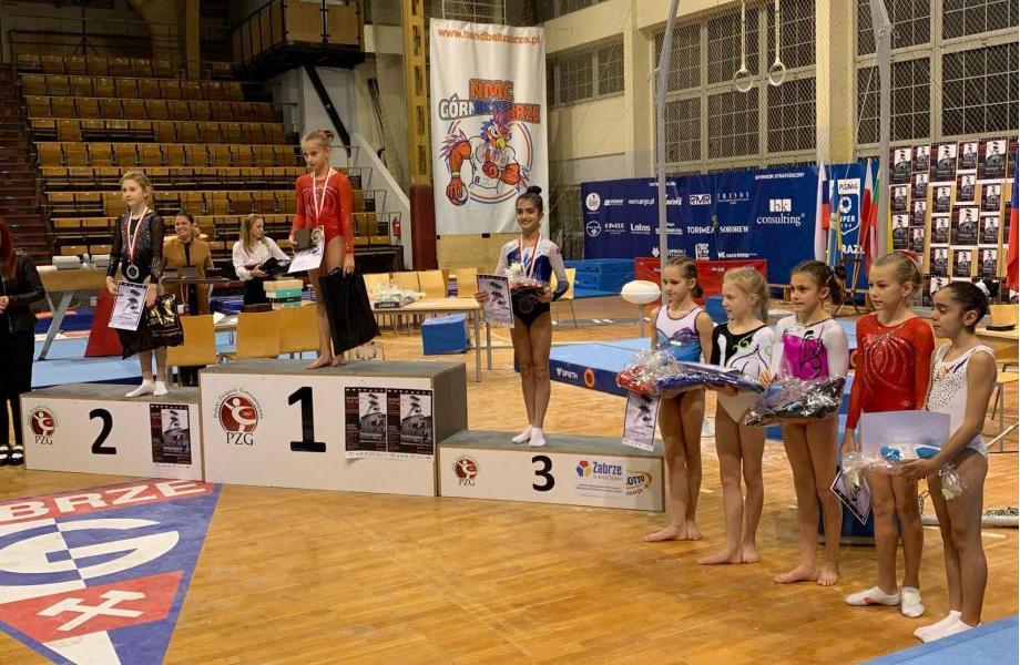 Azerbaijani gymnasts return from Poland with medals (PHOTO) - Gallery Image